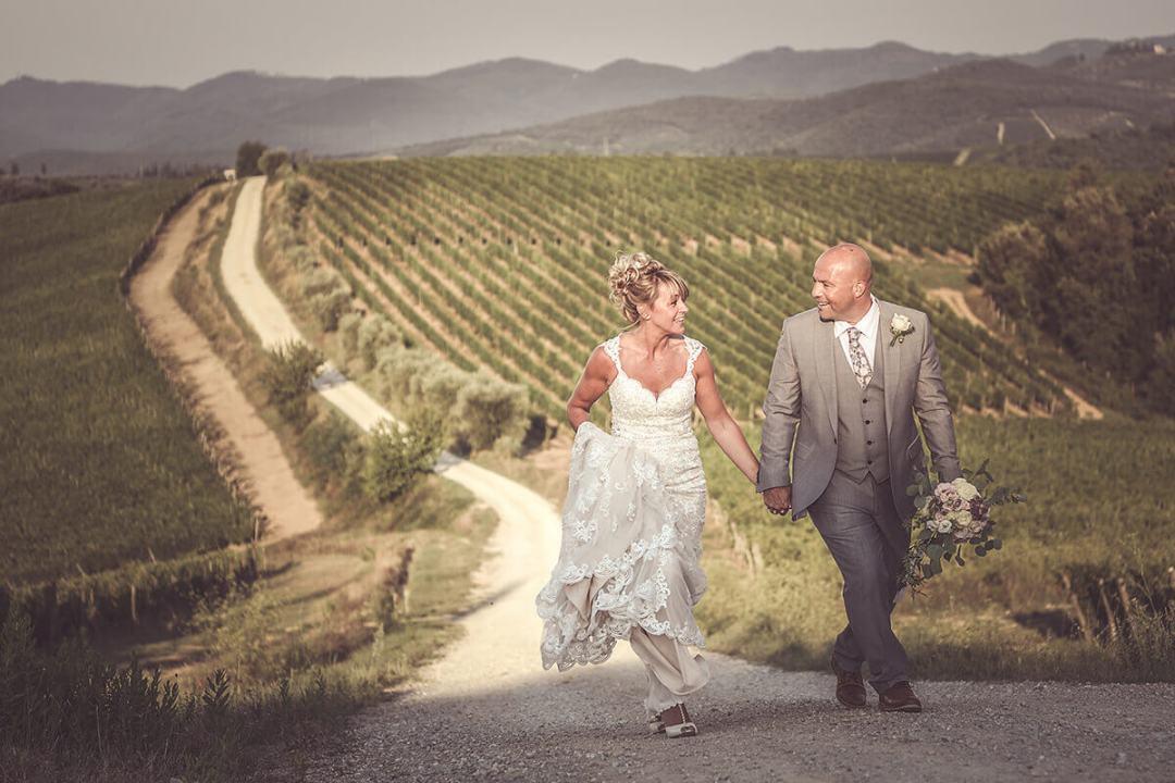 Wedding chianti