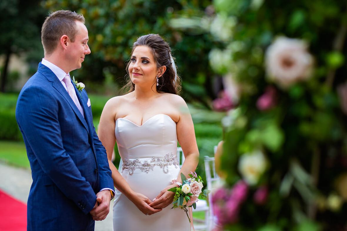 castle wedding italy