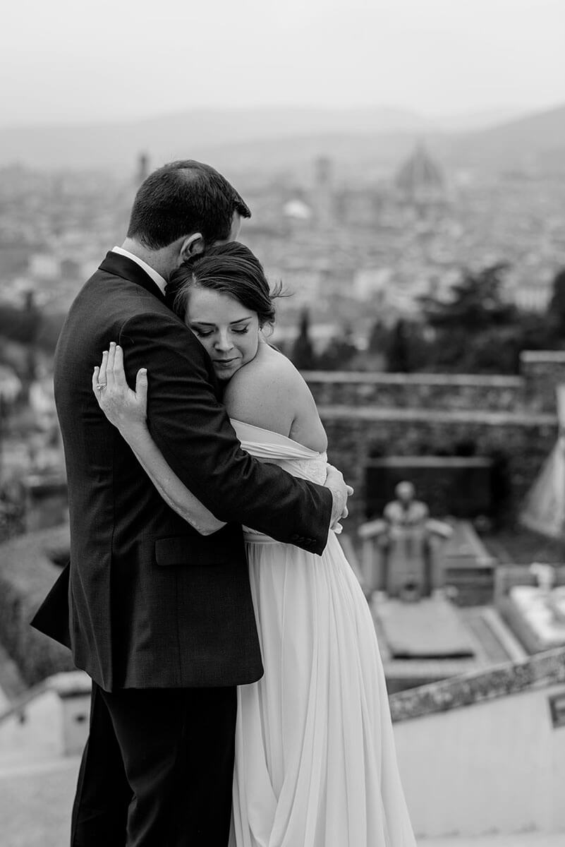 wedding in a villa in Florence