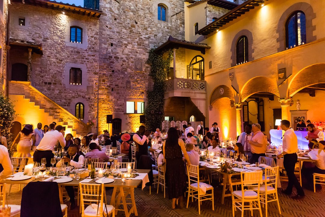 best castle wedding in Italy