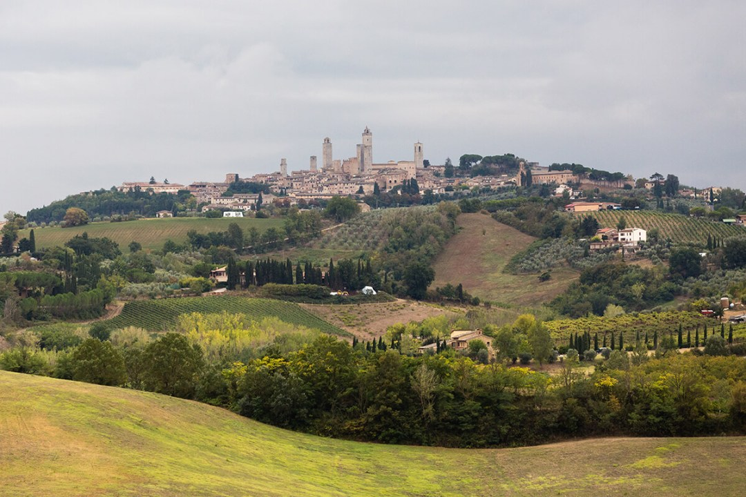 Wedding at San Gimignano, in Tuscany
