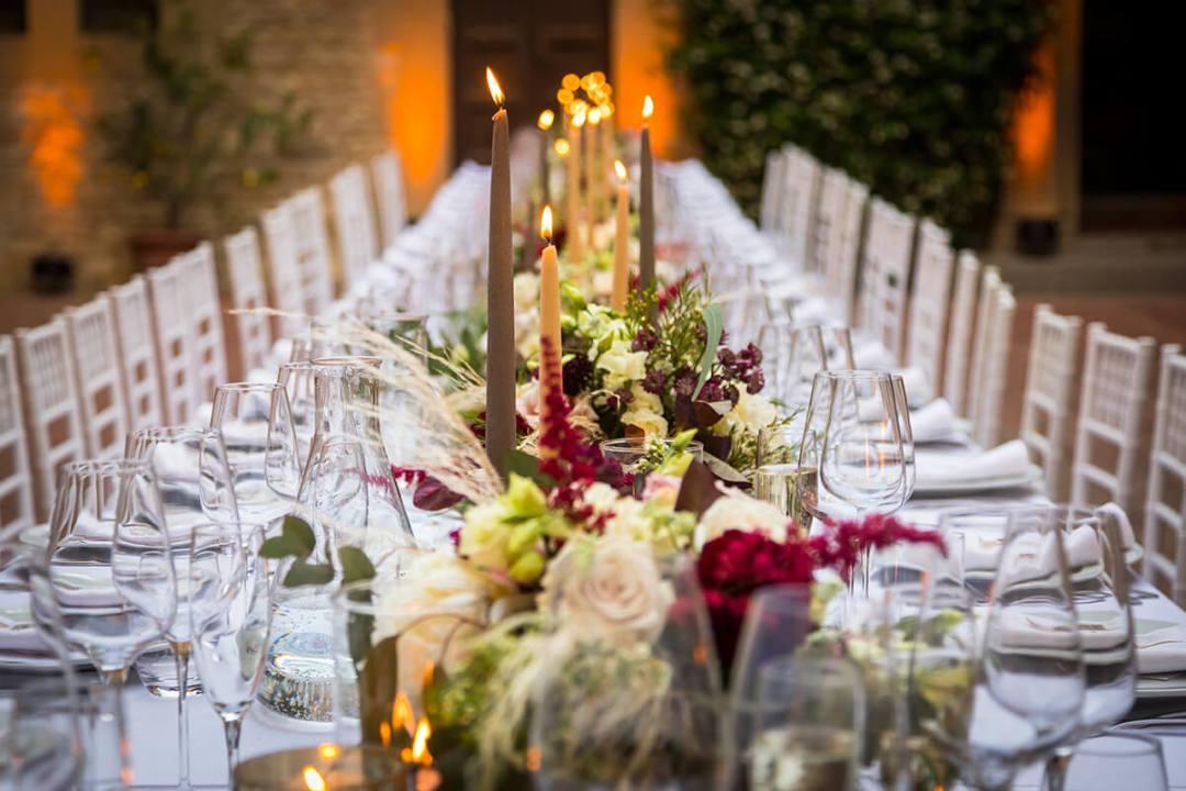 Twedding reception