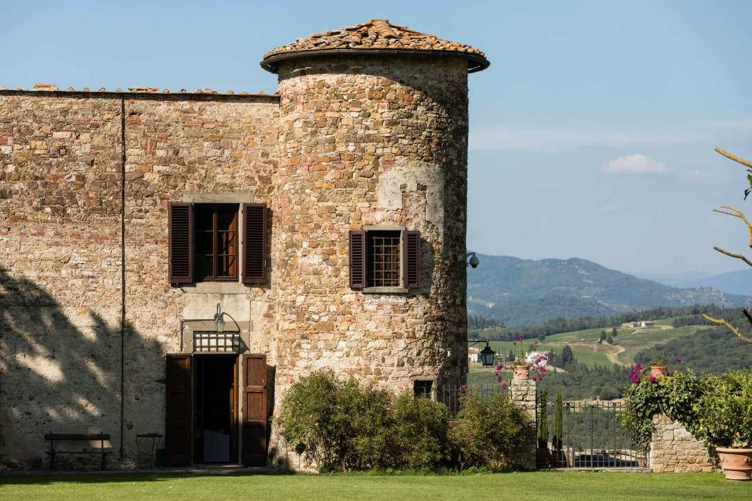 Getting married in a Castle in Tuscany