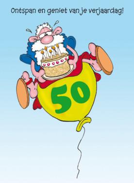 Abraham wensen 50 jaar