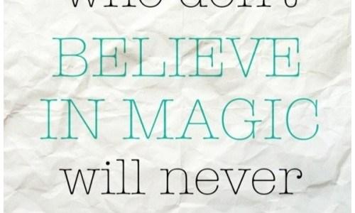 believe in magic op papier Roald Dahl