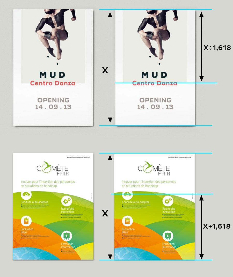 Affiche de comète france et Mud Centro de danza