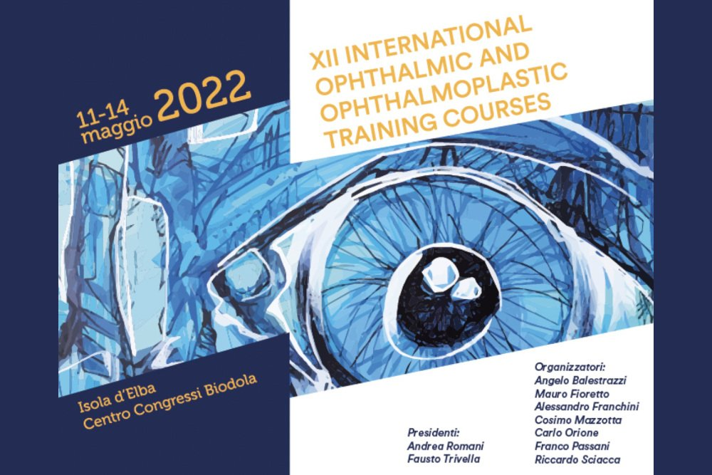 XII International Ophthalmic and Ophthalmoplastic Training Courses 2022