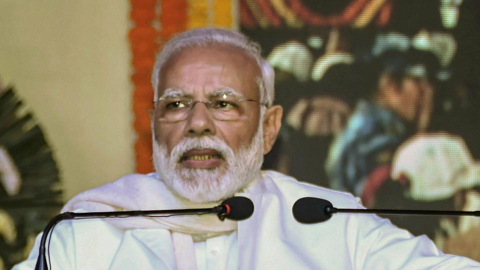 Modi accused the Congress of 'destroying' the state- run HAL and added his government increased defence production under the 'Make in India' programme.