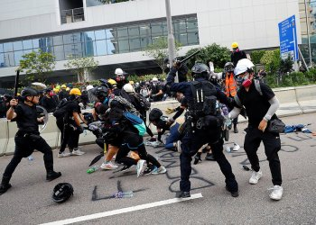 Beijing has used a mix of intimidation, propaganda and economic muscle to constrict the protests in a strategy dubbed 'white terror' by the movement.