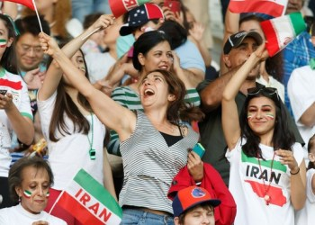 Iran has barred Iranian women spectators at matches since the 1979 Islamic revolution.