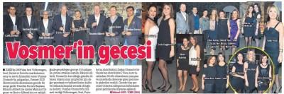 15 Şubat 2015 İzmir Hürriyet Vosmer