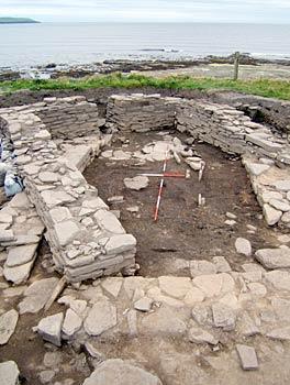 Quoygrew Viking longhouse, Westray, Orkney