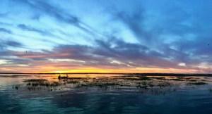 Lake Toho bass fishing guides sunrise