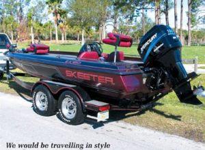Skeeter Lake Toho fishing guide boat