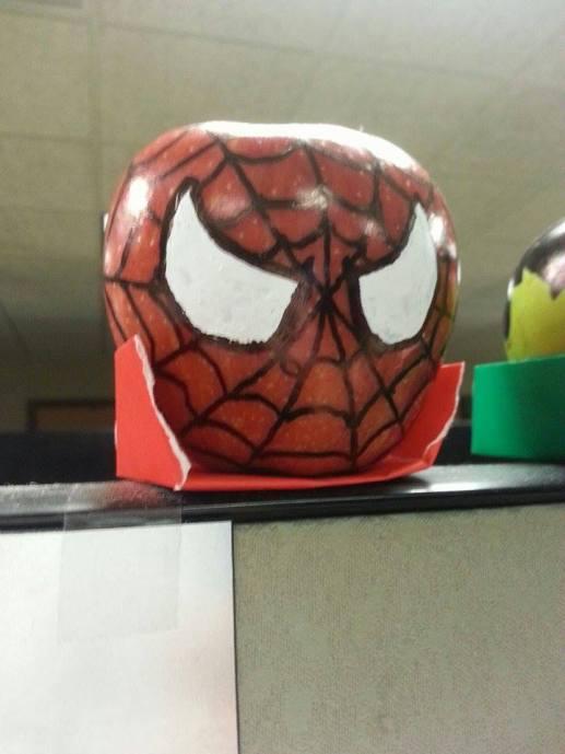 Spiderman Apple
