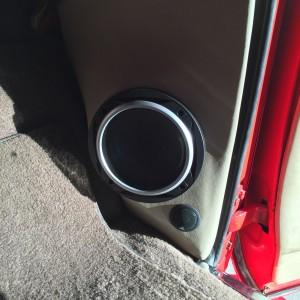 custom door speaker