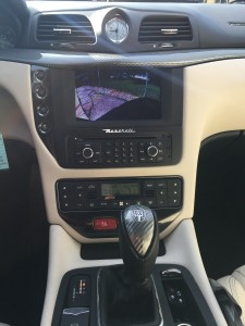 Factory head unit with rear view camera integrated