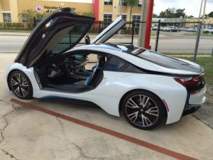 BMW i8 custom audio