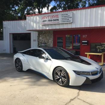 Custom BMW electric car