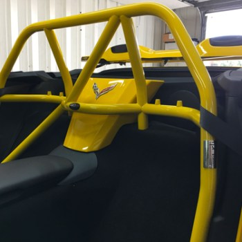 Roll bar installed in C7