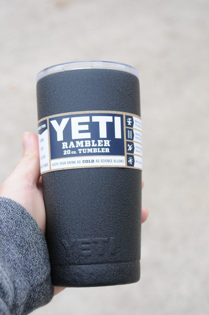 Black Yeti Rambler