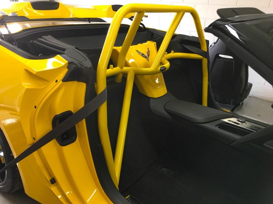 roll cage corvette