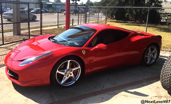 Sports car customization