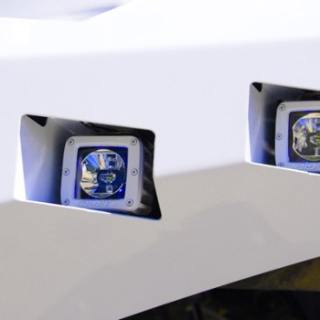 Custom Bumper and Rigid Industries Lights