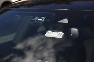 windshield radar detector