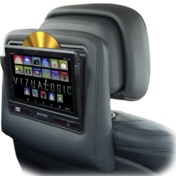 car truck dvd player tablet