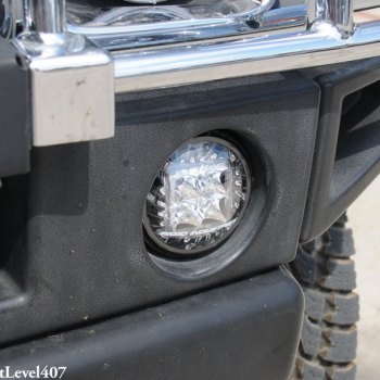 Rigid Industries Light Kit Installed