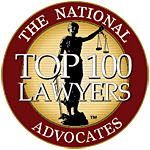 Advocates top 100 member seal - Child Support