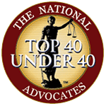 Advocates top 40 member seal - Contact Us