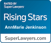 Super Lawyers Badge e1559708503374 - Attorney AnnMarie Jenkinson
