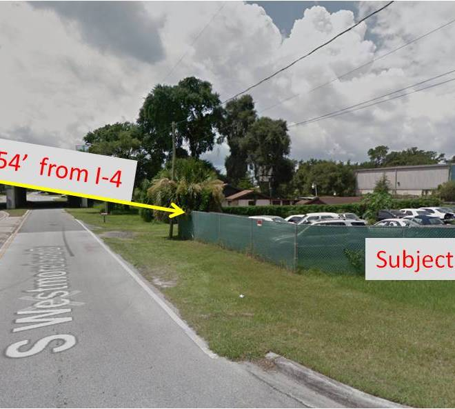 From Westmoreland to I-4 street view
