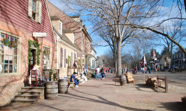 Visiting Colonial Williamsburg