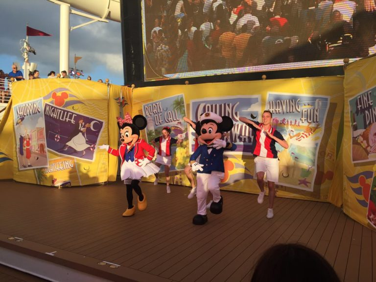 Disney Fantasy: Activities and Entertainment