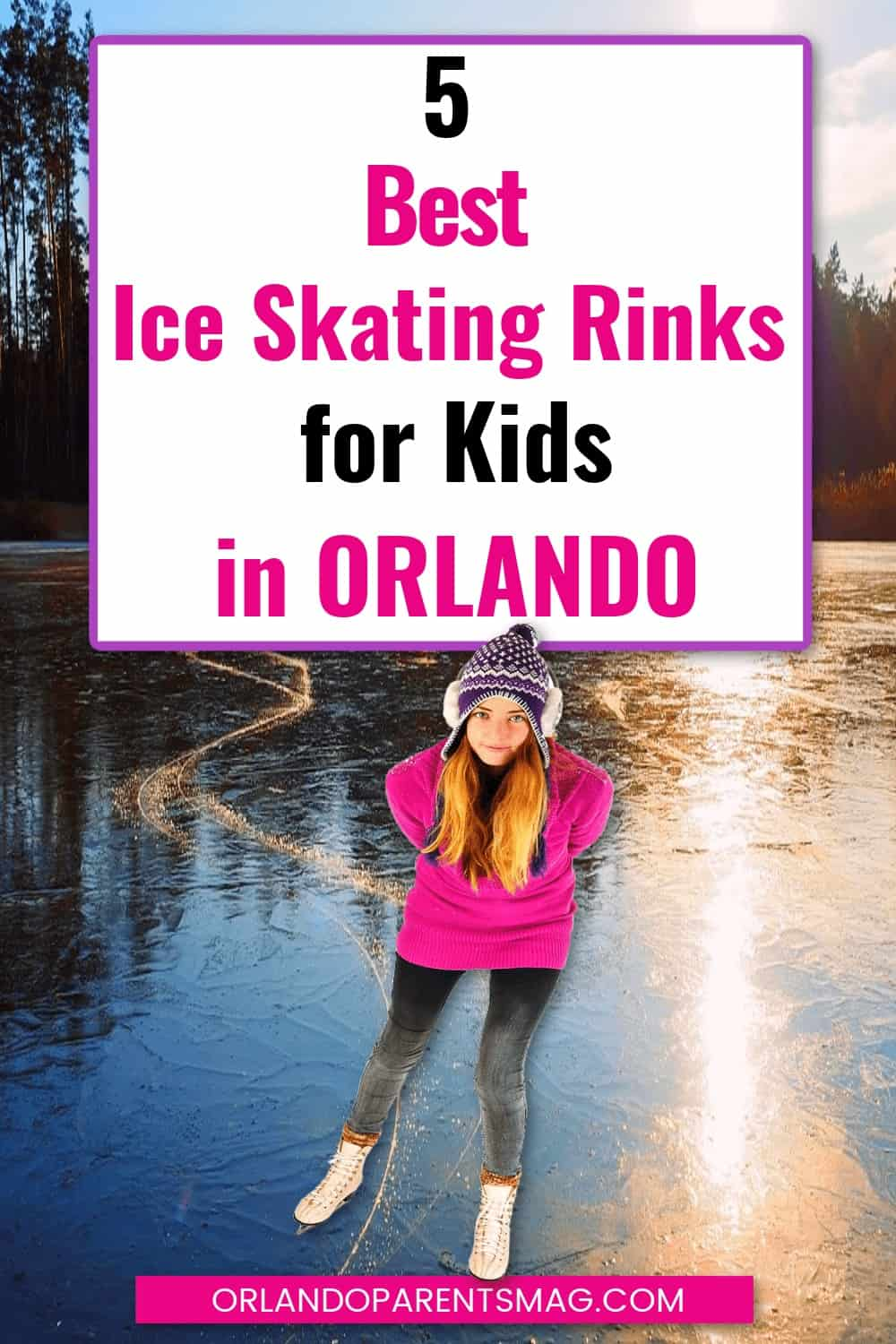 ice skate in orlando with kids