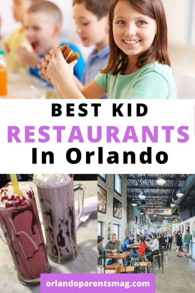 places to eat with kids in orlando