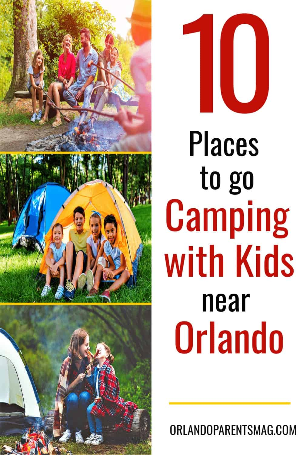 places to camp in orlando