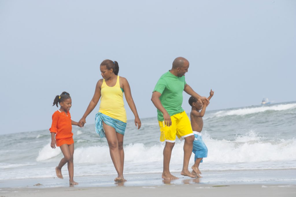 top family beaches near orlando