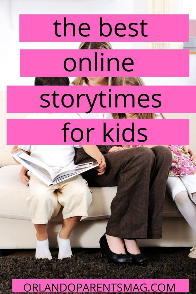 online storytimes for kids