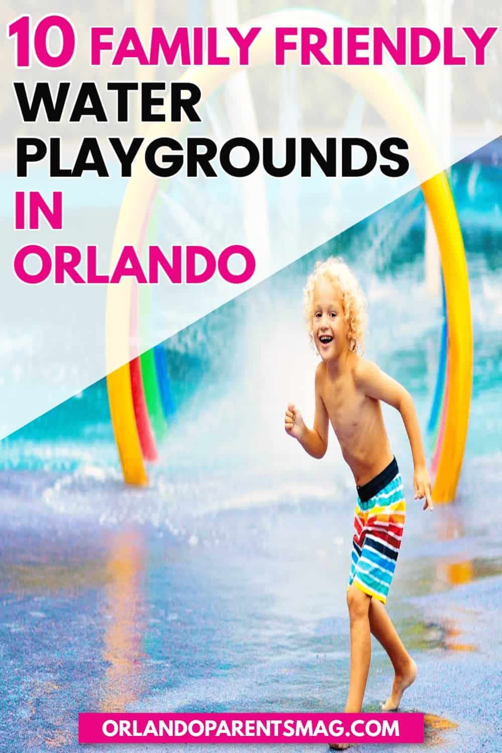 water playgrounds in orlando