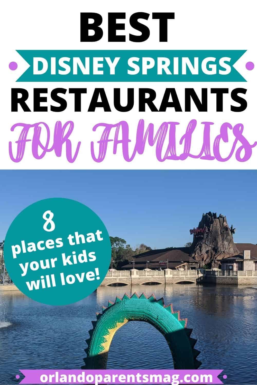 disney springs with kids