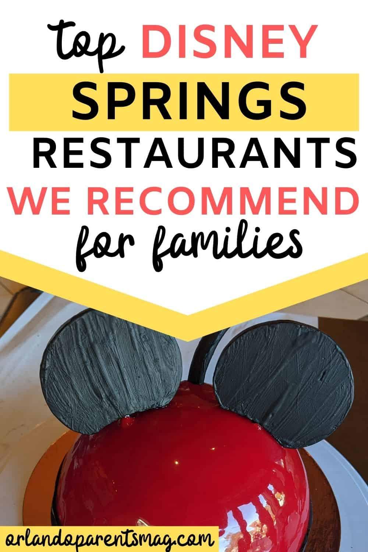 best restaurants in disney springs