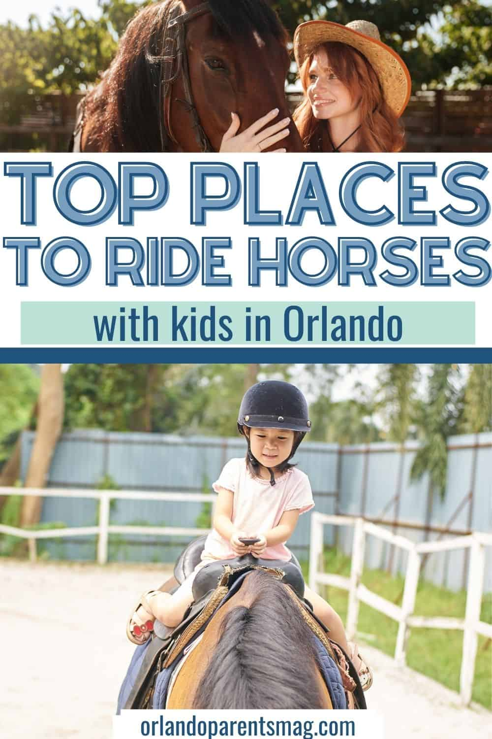 horseback riding for kids in orlando
