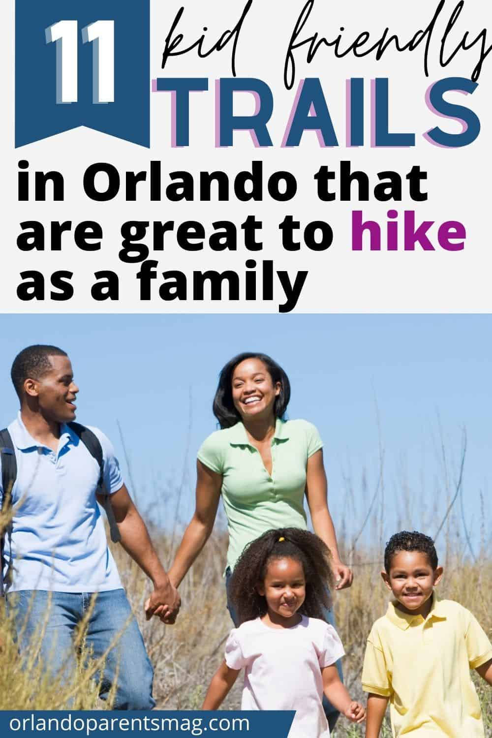 orlando hikes with kids