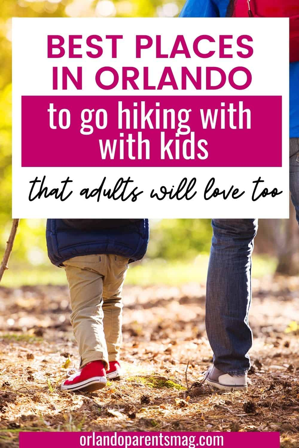hike with kids in orlando