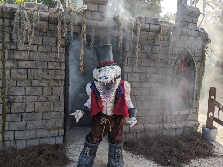 Gatorland's Gators, Ghosts and Goblins Event