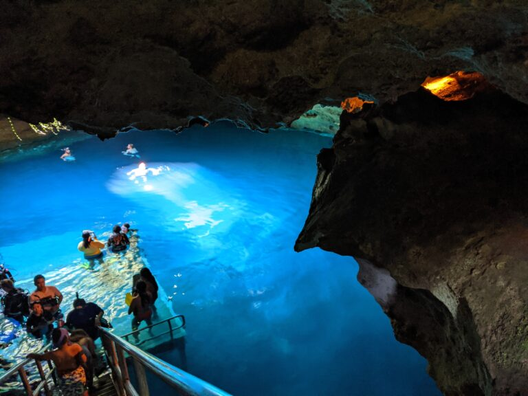 We Went Snorkeling in a Cave: A Review of Devil's Den